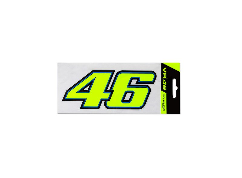 Rossi 46 Moto Stickers - White