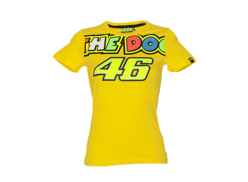 Camiseta VR|46 The Doctor Mujer - White