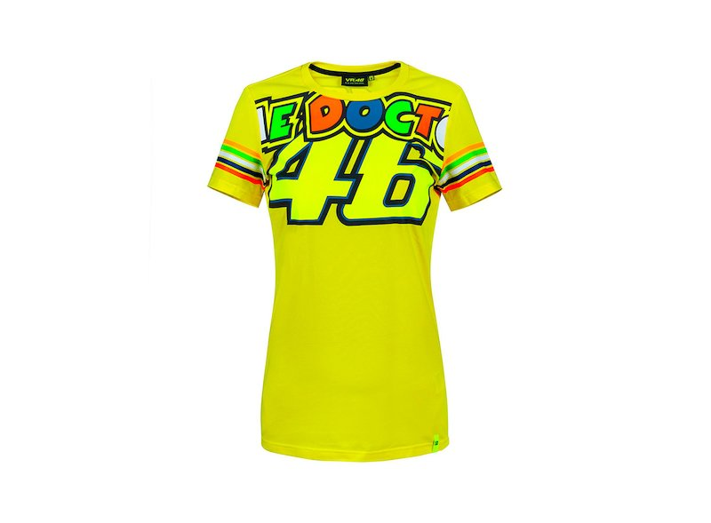 Valentino Rossi VR46 Woman T-shirt - White