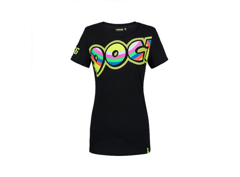 Camiseta  Valentino Rossi VR46 Mujer