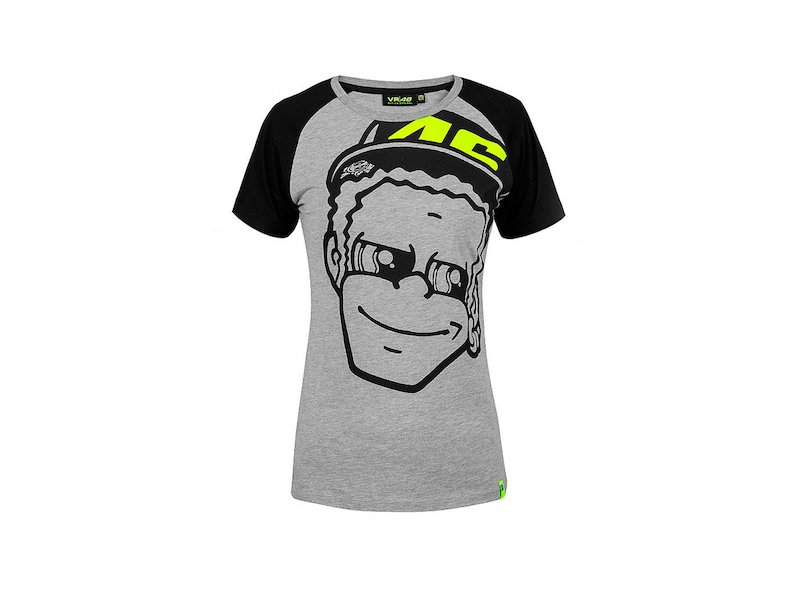 Camiseta Rossi Face Mujer - White