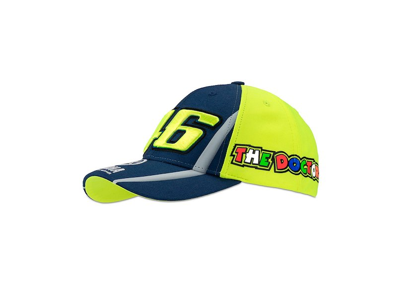 Casquette Yamaha Valentino Rossi Enfant - White