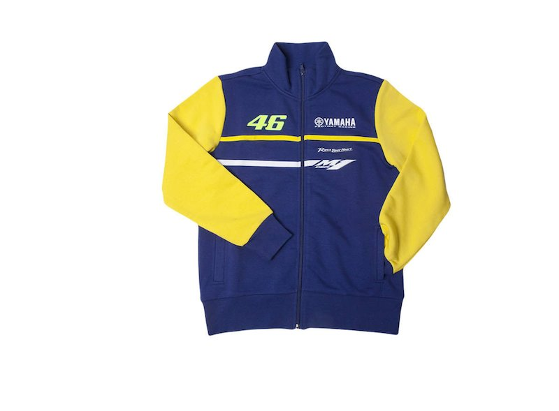 Official Yamaha Rossi VR|46 Fleece Junior - White