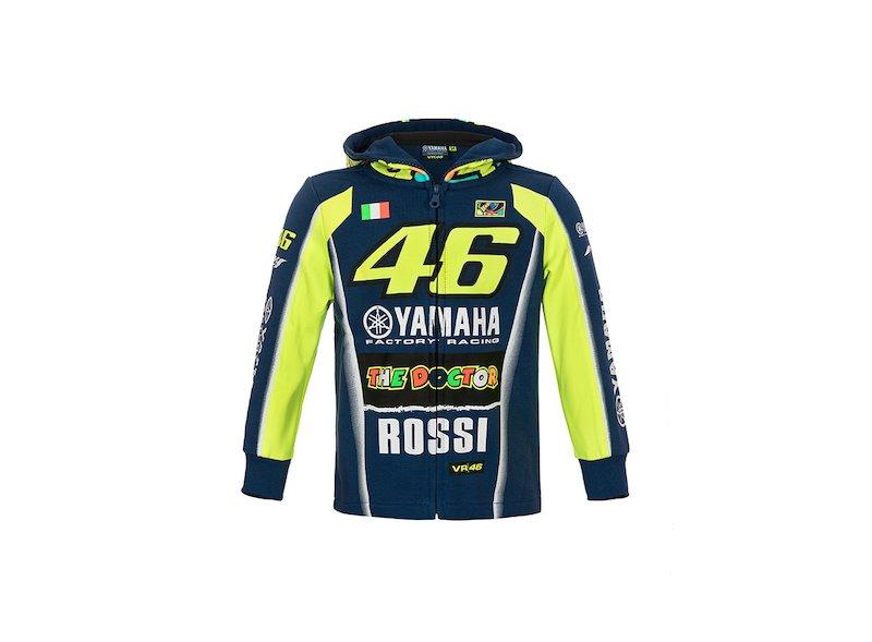 Felpa Yamaha Rossi 2018 Bambino