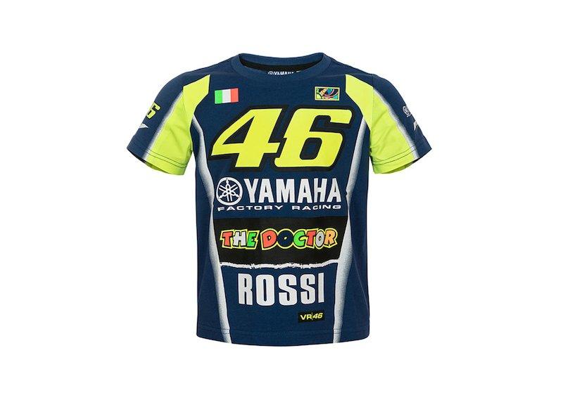 Maglietta Yamaha Rossi 2018 Bambino