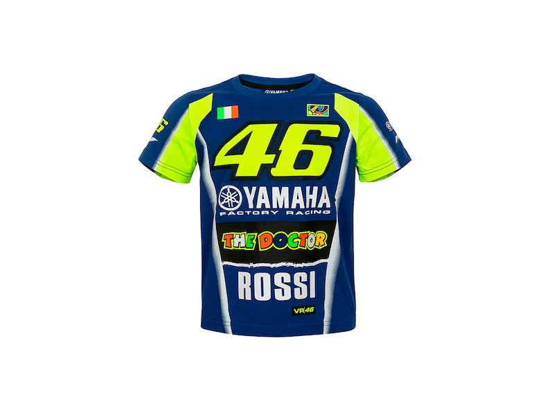 T-shirt Yamaha Rossi 2018 Junior
