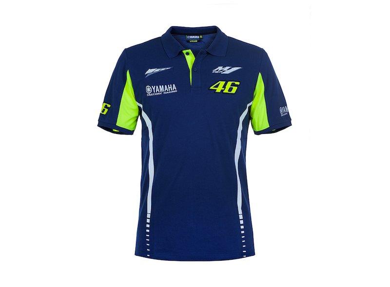 Polo Shirt Valentino Rossi Yamaha 2017