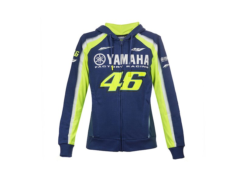 Sudadera Yamaha Rossi 2018 Mujer