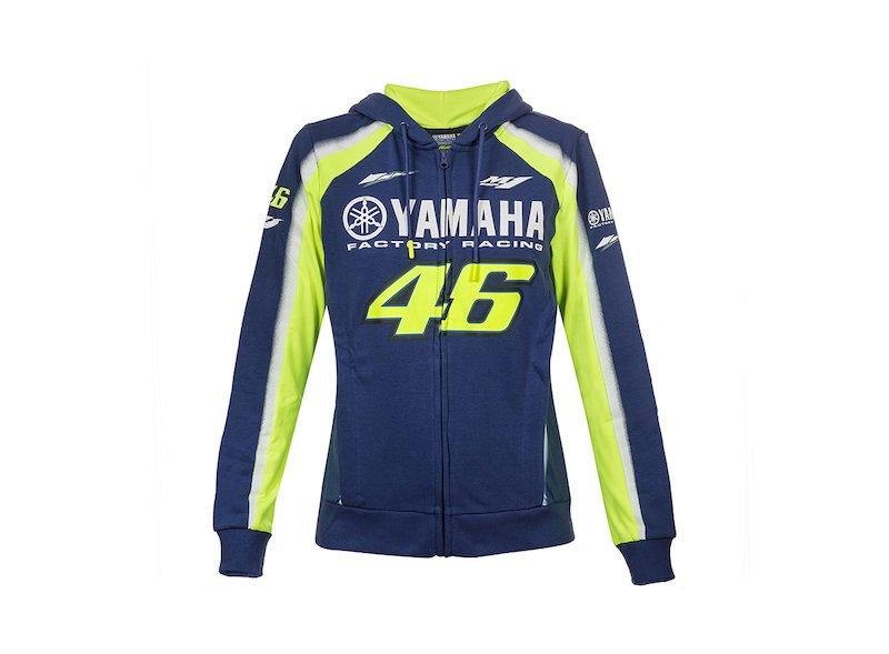 Sweat Yamaha Rossi 2018 Femme - White