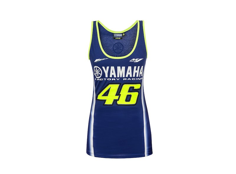 Rossi Yamaha 2018 Woman Tank Top