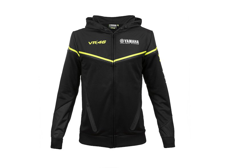 Sweat Yamaha Black VR46 2018 - White