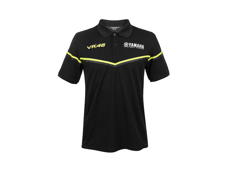 Yamaha VR46 2018 Polo Shirt Black