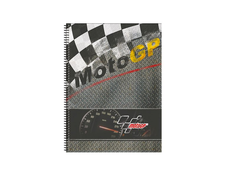 MotoGP™ Notebook hard cover - White