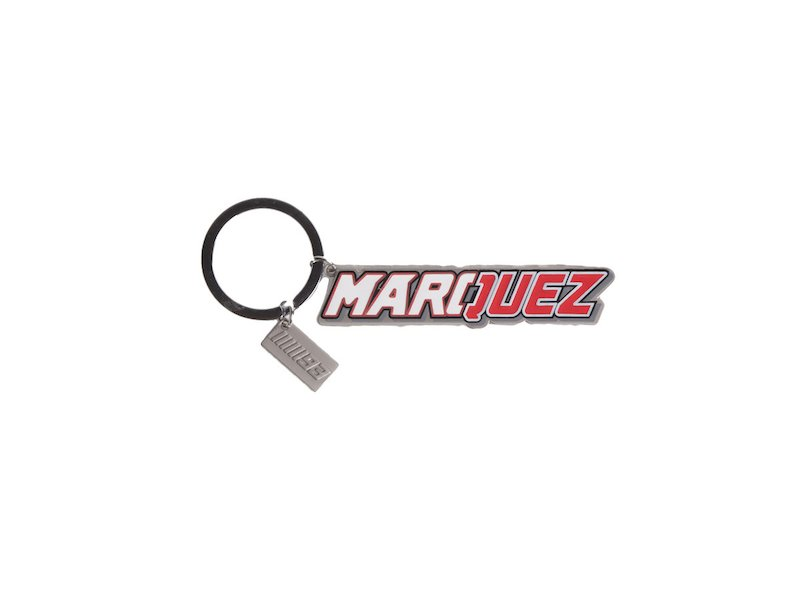 Marquez 93 Official Key Ring - White