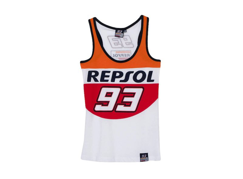 Marquez Repsol Tank Top Woman - White