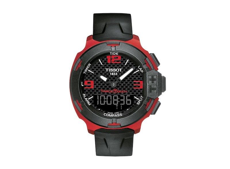 Tissot T-Race Touch  Watch Aluminium - White
