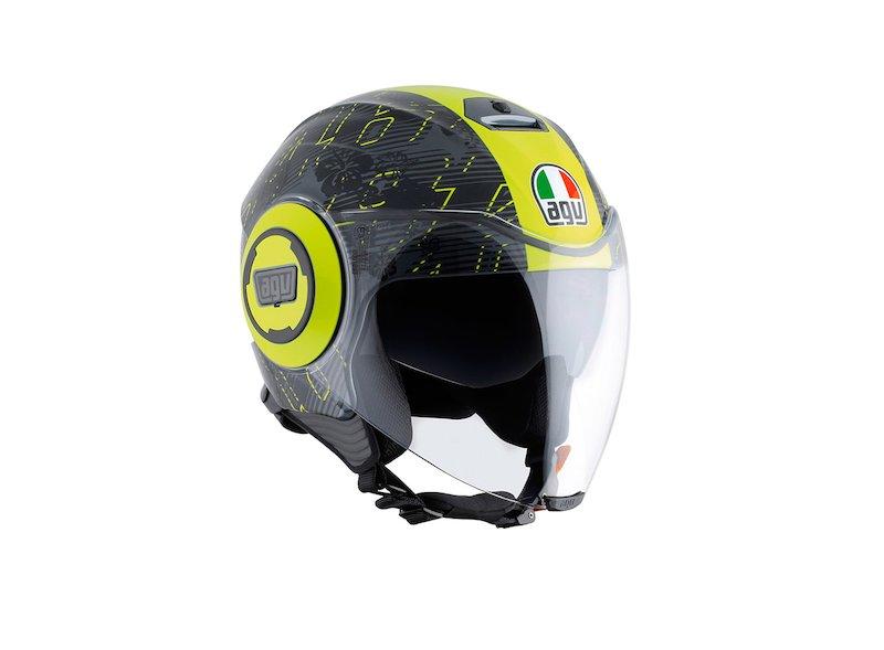 Casco Fluid Jet Valentino Rossi 46 - White