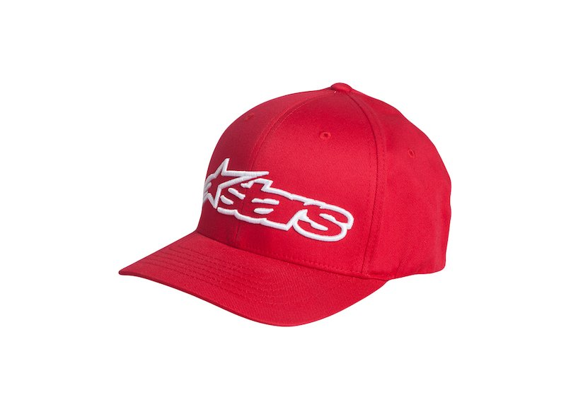 Cappellino Alpinestars Flexfit Rosso