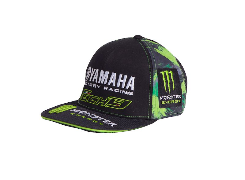 Cappellino Monster Yamaha Tech 3