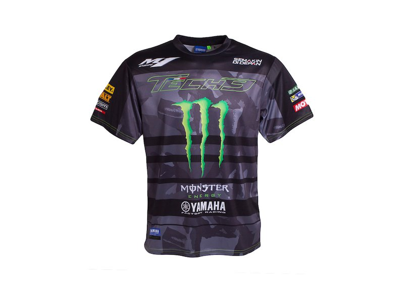 T-shirt Monster Yamaha Tech 3 All Over Print