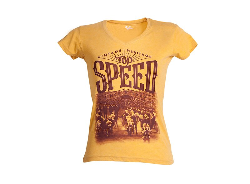 T-shirt MotoGP™ Legends Speed Femme - White