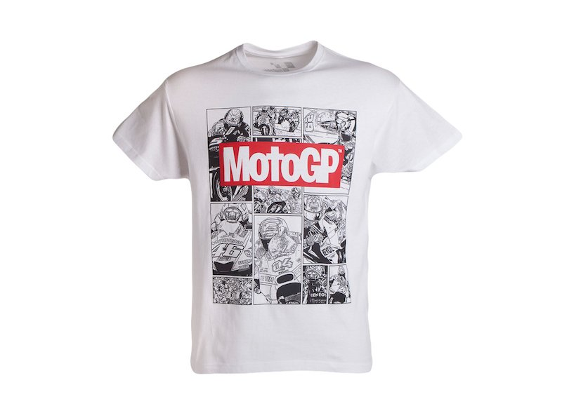 Camiseta MotoGP™  Supercomic - White