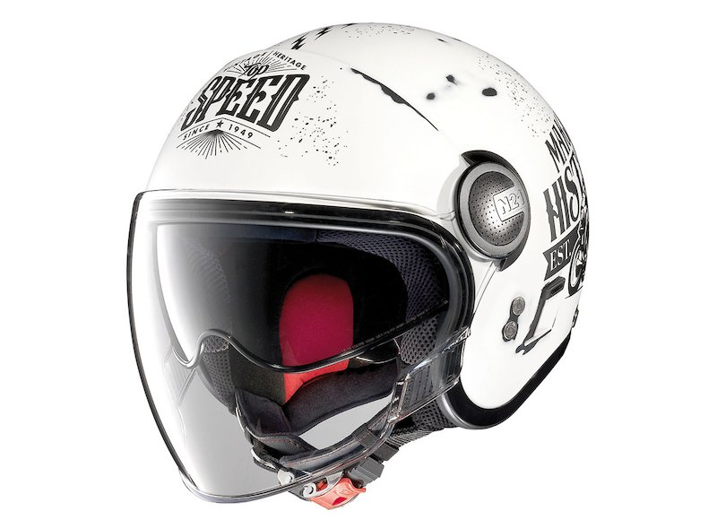 Casco Bianco Nolan Jet N21 Moto GP Legend - White