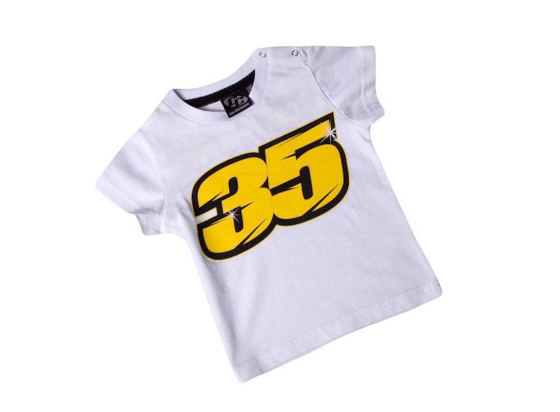 T-shirt Cal Crutchlow Kid - Red