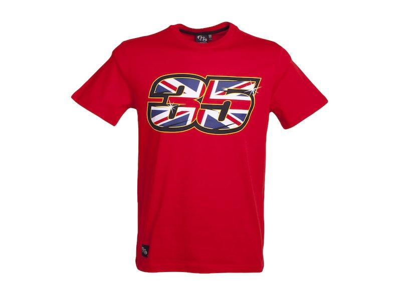Tée-shirt Cal Crutchlow 35 - Black