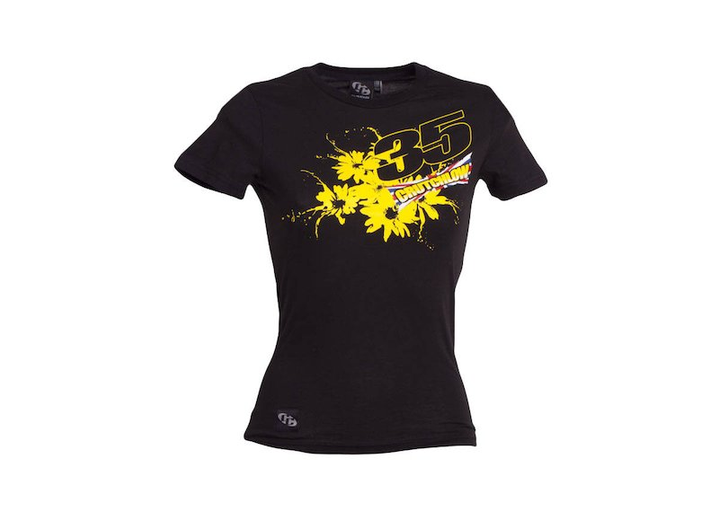 Cal Crutchlow T-shirt Woman - Black