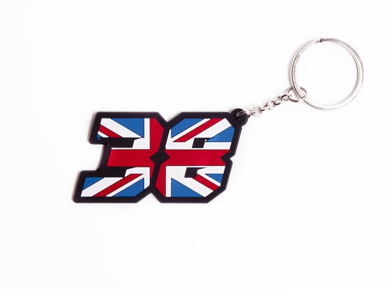 Bradley Smith Key Ring - Red