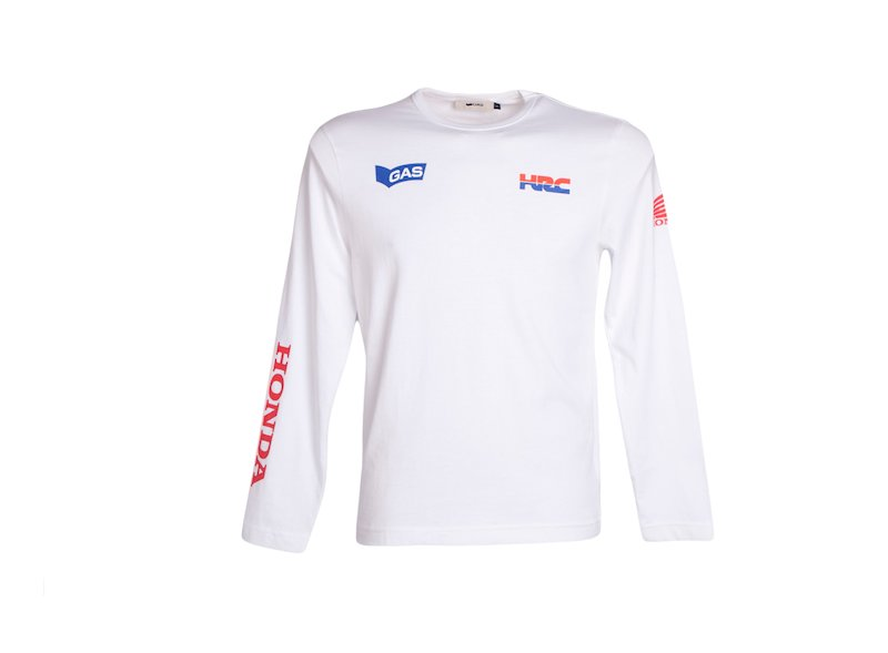 Camiseta Gas Honda Speed - White
