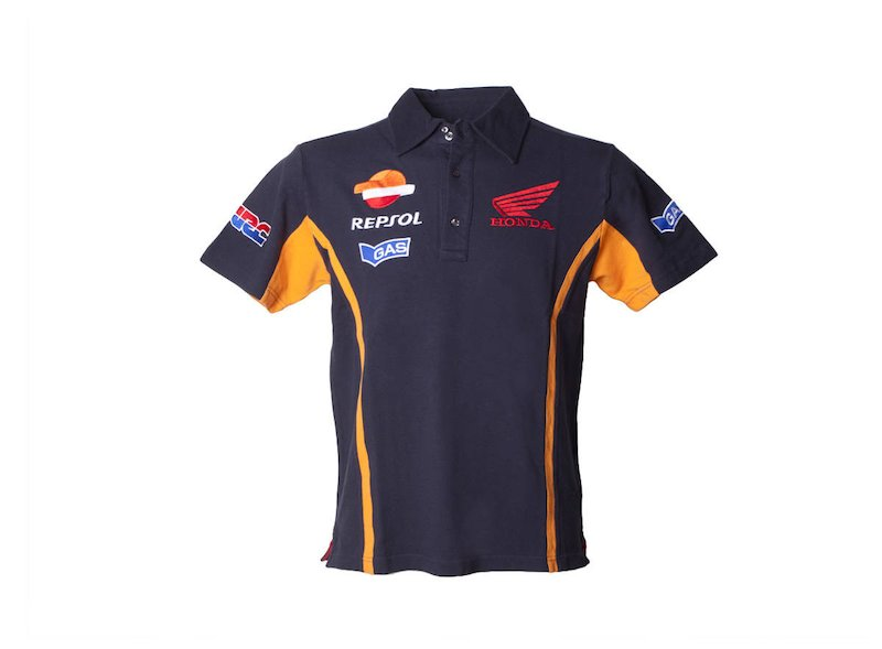 Spool Repsol Honda Polo Shirt - White
