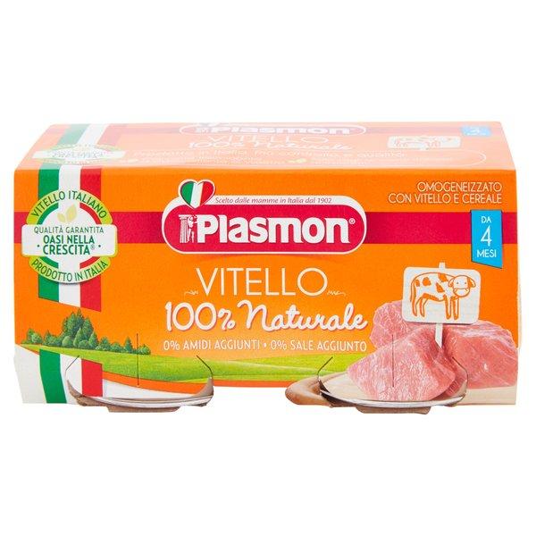 Plasmon Omogeneizzato con Vitello e Cereale 2 x 80 g