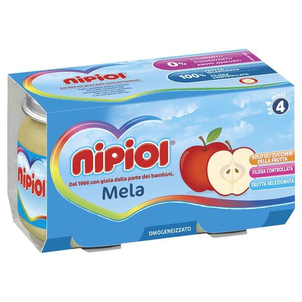 Nipiol Omogeneizzato Mela 2x120g