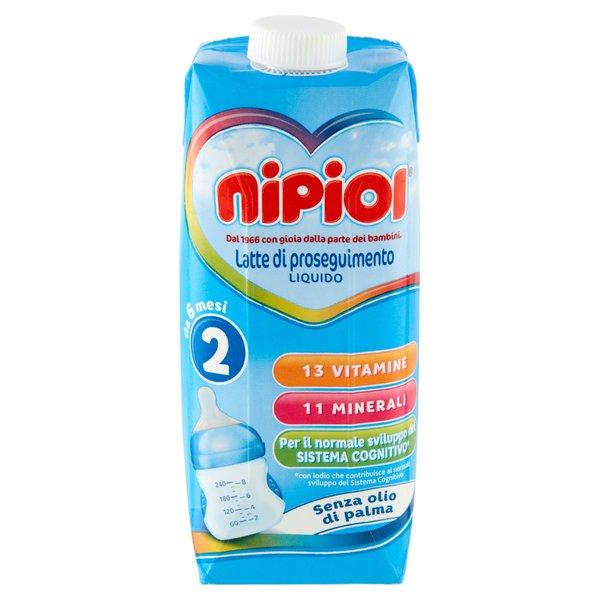 Nipiol 2 Latte di proseguimento Liquido 500 ml