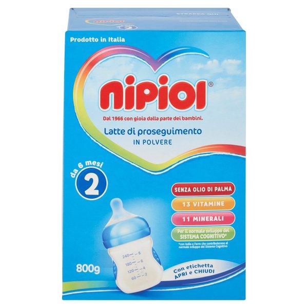 Nipiol 2 Latte di Proseguimento in Polvere 2 x 400 g