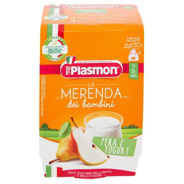 Plasmon la Merenda dei bambini Pera e Yogurt 2 x 120 g