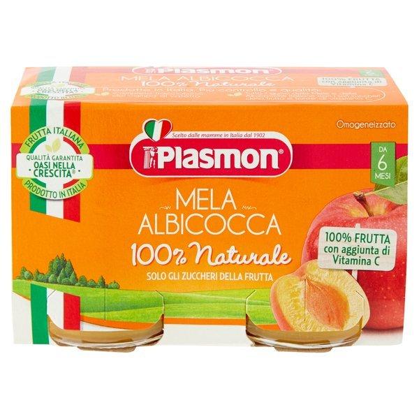 Plasmon Mela Albicocca Omogeneizzato 2 x 104 g