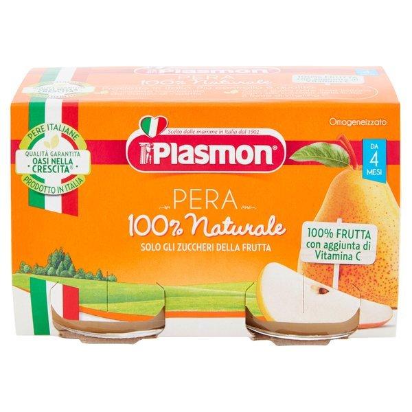 Plasmon Omogeneizzato Pera 2 x 104 g