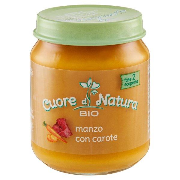 Cuore di Natura Bio manzo con carote 110 g