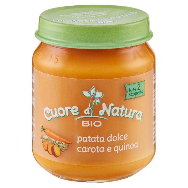 Cuore di Natura Bio patata dolce, carote e quinoa 110 g