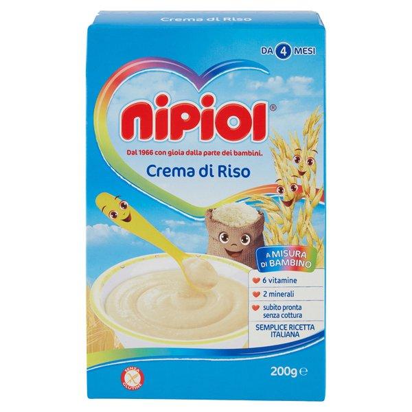 Nipiol Crema di Riso 200 g
