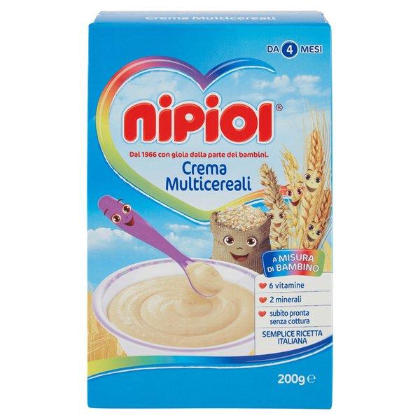 Nipiol Crema Multicereali 200 g