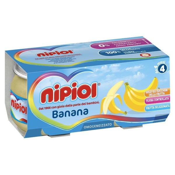Nipiol Omogeneizzato Banana 2x80g