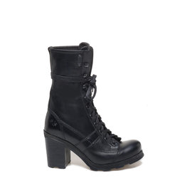 Stewart<br />Heeled calfskin ankle boots