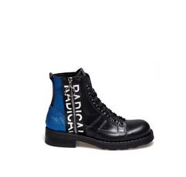Frank<br />Desert boot blue glitter