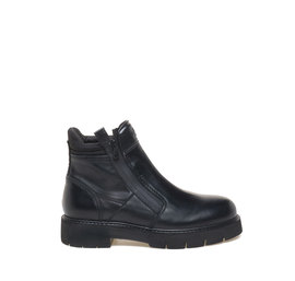 Amtrac<br />leather zipped army boots