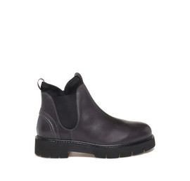Chelsea boots in calfskin smoke colour