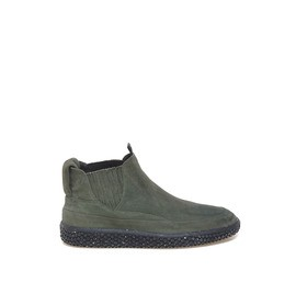 Woobie<br />Beatle boots in military-green crust
